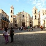 Plaza Catedral in Old Havana