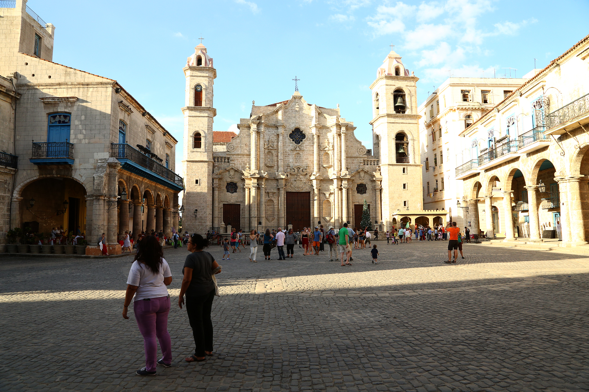 Plaza de la Catedral in Old Havana