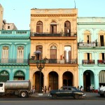 restored Spanish colonial houses in Havana