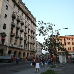 Bus stop in Chinatown, Havana, Cuba